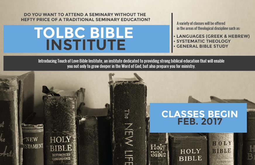 TOLBC BIBLE INSTITUTE